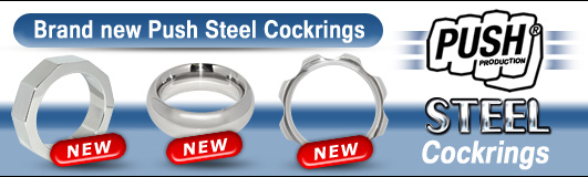 BRAND NEW: Push Steel Cockrings